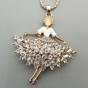 Betsey Johnson Gold Ballet Dancer Rhinestone